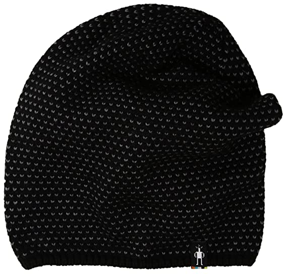 Amazon.com  SmartWool Diamond Cascade Hat (Black) One Size  Sports ... 07dbffb0a1b
