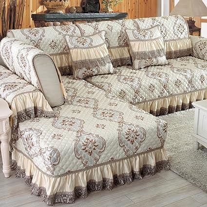 Amazon Com Wsfj Sofa Cushioning European Style Sofa Cover Fabric