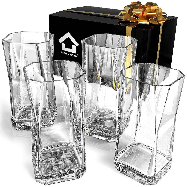 Highball Glasses - Drinking Glasses Set of 4 - Cocktail Glasses 20oz - Glass Water – Glassware Set – Large Bar Glasses - Housewarming Gift