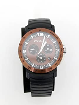Porsche 911 Turbo Sport Classic Reloj Watch Cronógrafo wap070 0830d: Amazon.es: Coche y moto