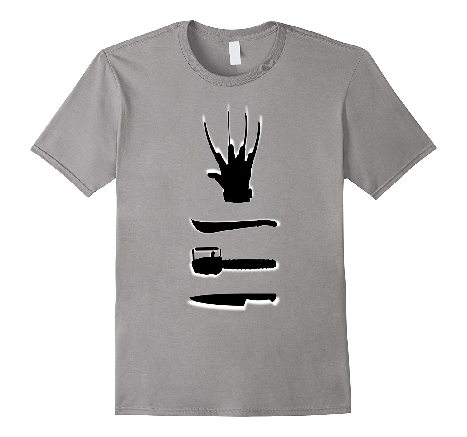 Horror Movie Weapons T-shirt-Rose