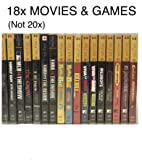 20x PSP Movie & Game Bundle - 20 Different PlayStation Portable Movies and Games - EXACT TITLES IN DESCRIPTION - Brand…