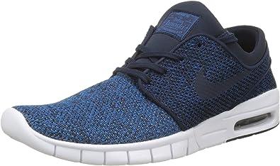 pretty cheap classic shoes great fit Nike Stefan Janoski Max, Baskets Basses Homme, Bleu (Industrial ...