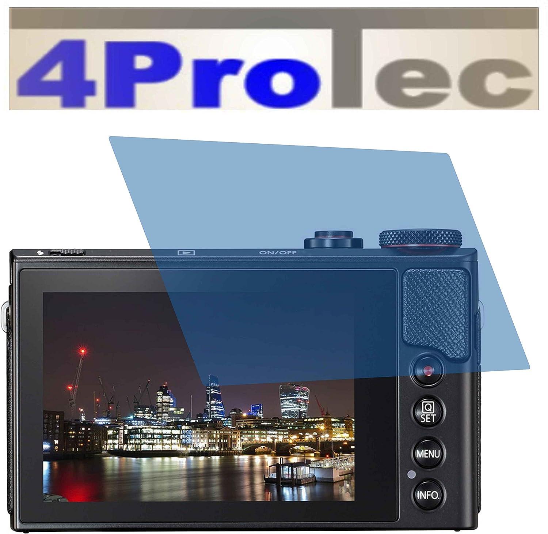 4ProTec I 2X ANTIREFLEX matt Schutzfolie f/ür Canon PowerShot G9 X G9X Mark II Premium Displayschutzfolie Bildschirmschutzfolie Schutzh/ülle Displayschutz Displayfolie Folie