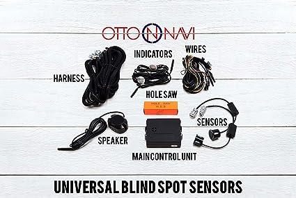 Honda Pilot Blind Spot Monitor Safety Warning Sensor Detection Kit