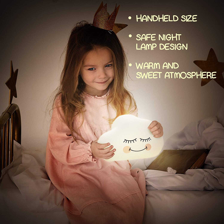 im Kombibereich Nachtlicht f/ür Kinder LED Soft Light for Nursery Bed AAA Battery Operated oder Direct USB Charge im Klartext