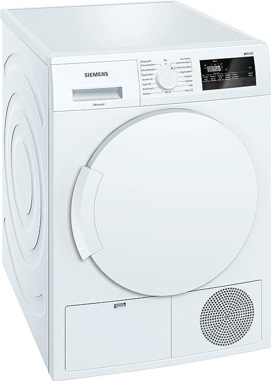 Siemens iQ300 WT43N200 Independiente Carga frontal 7kg B Blanco ...