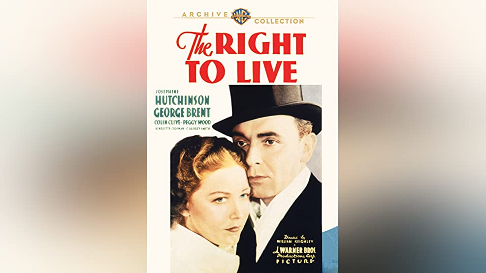 The Right To Live (1935)