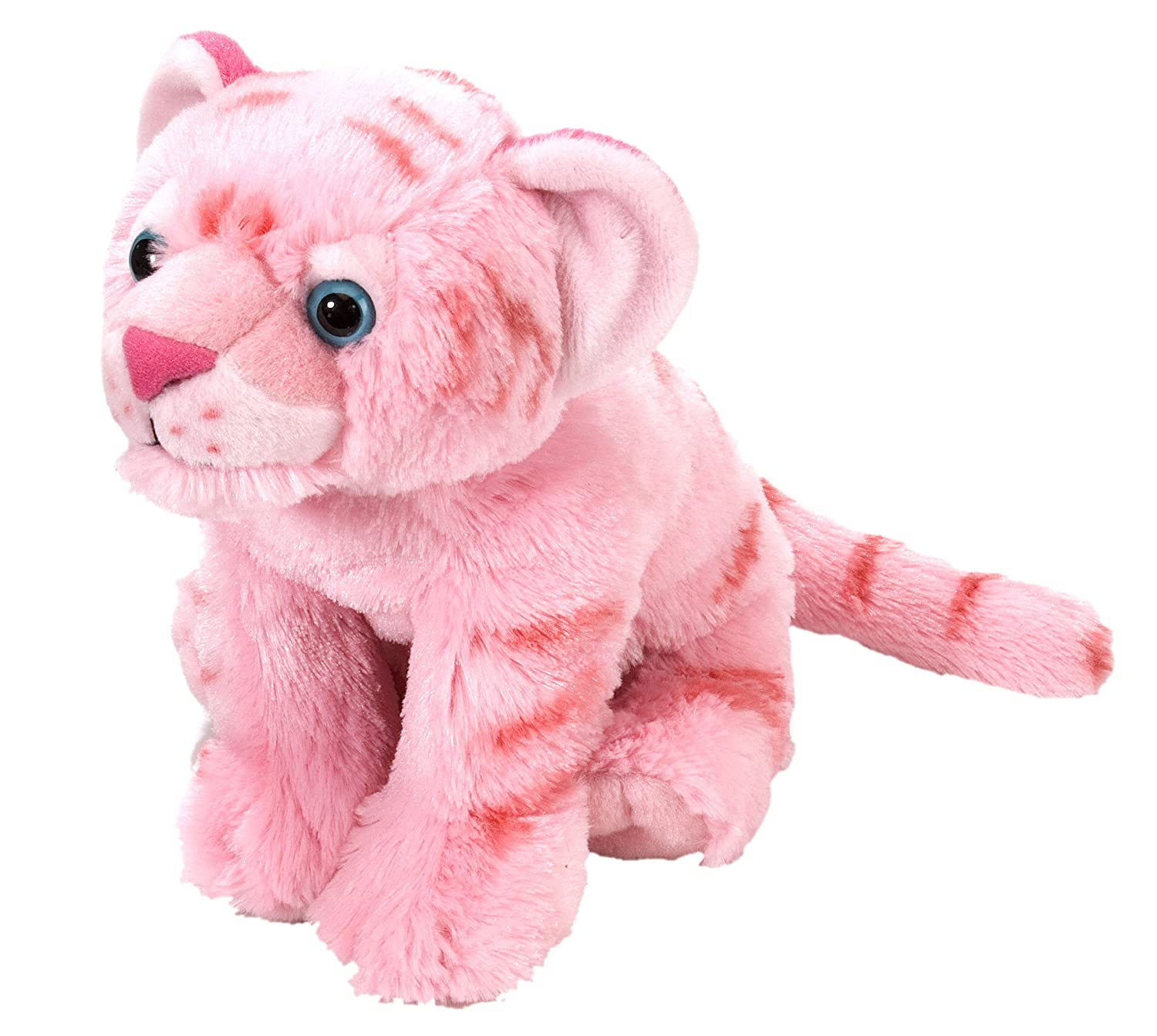 Wild Republic Tiger Plush, Stuffed Animal, Plush Toy, Gifts For Kids, pink, Cuddlekins 12 Inches