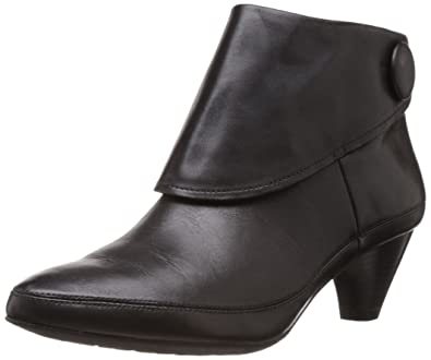 635c53ee309 Clarks Women's Lucilla Denny Black Leathe Leather Boots - 4 UK: Buy ...