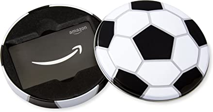 Amazon.com Gift Card in a Soccer Tin