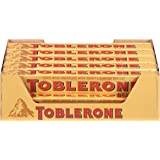 Toblerone Chocolate Bar, Milk, 3.52 Oz, 20 Count