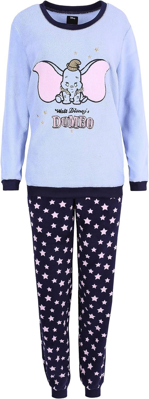 Pijama Azul de Forro Polar Dumbo Disney Large: Amazon.es: Ropa
