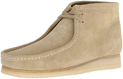 Clarks Herren Stiefel Wallabee Boot Low, 46 EUR, Maple