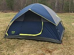 Coleman Sundome Vs Moon Lence Camping Tent