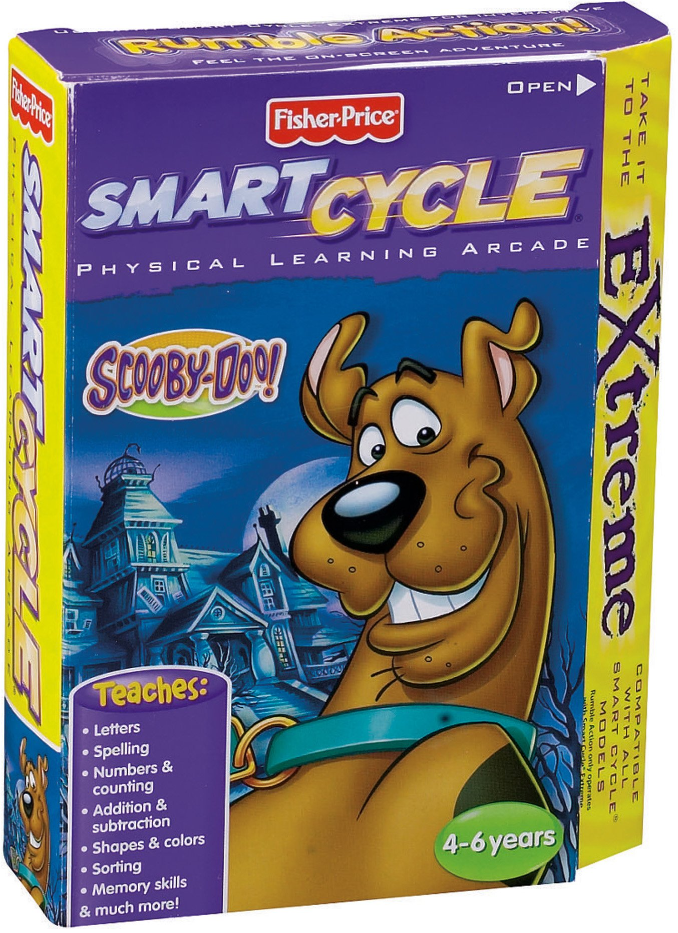 Fisher-Price Smart Cycle Extreme [Old Version] Scooby Doo Software Cartridge by Fisher-Price (Image #2)