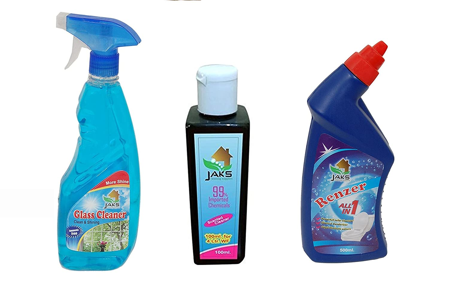 Jaks Combo Offer:- Phynel Concentrate (200 Ml) + Toilet Cleaner (500 ...