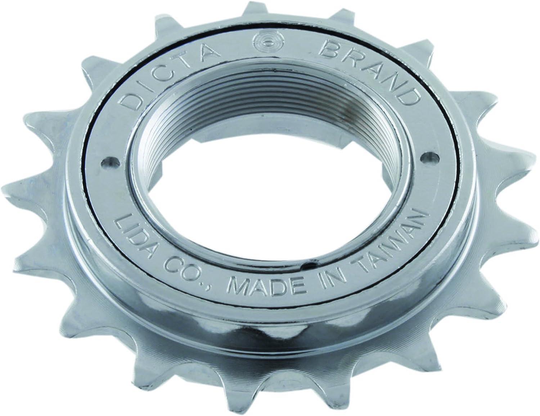"""BMX single speed 16t Freewheel  1//8/"""" 16t Free Wheel 8 key Type silver"""