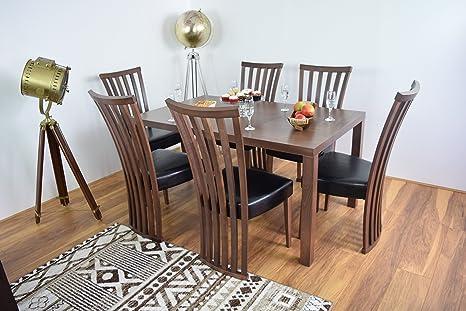 Mobili Cucina Legno Massello : Ahoc set tavolo e sedie in legno massello sala da pranzo cena