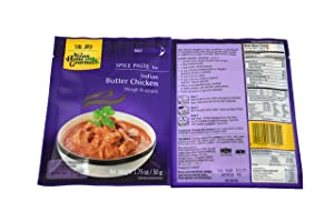 Indian Butter Chicken (Instant Makhani Sauce Mix) - 1.75oz (Pack of 12)