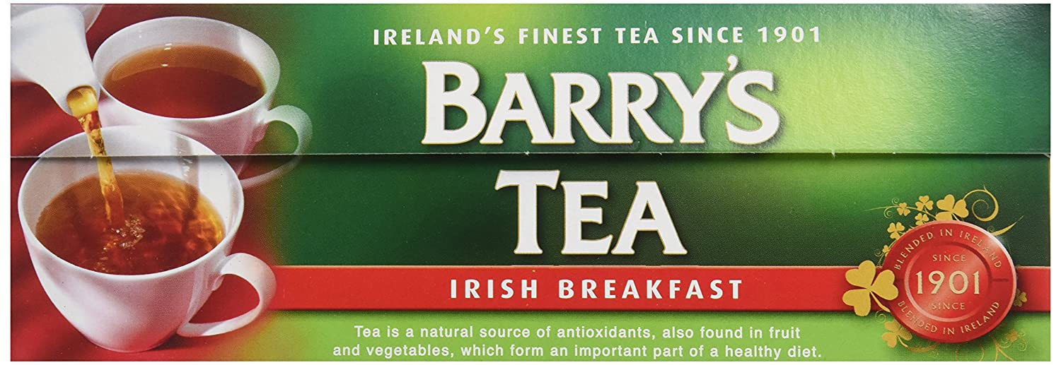 Barry's Tea Bags, Irish Breakfast, 80 Count