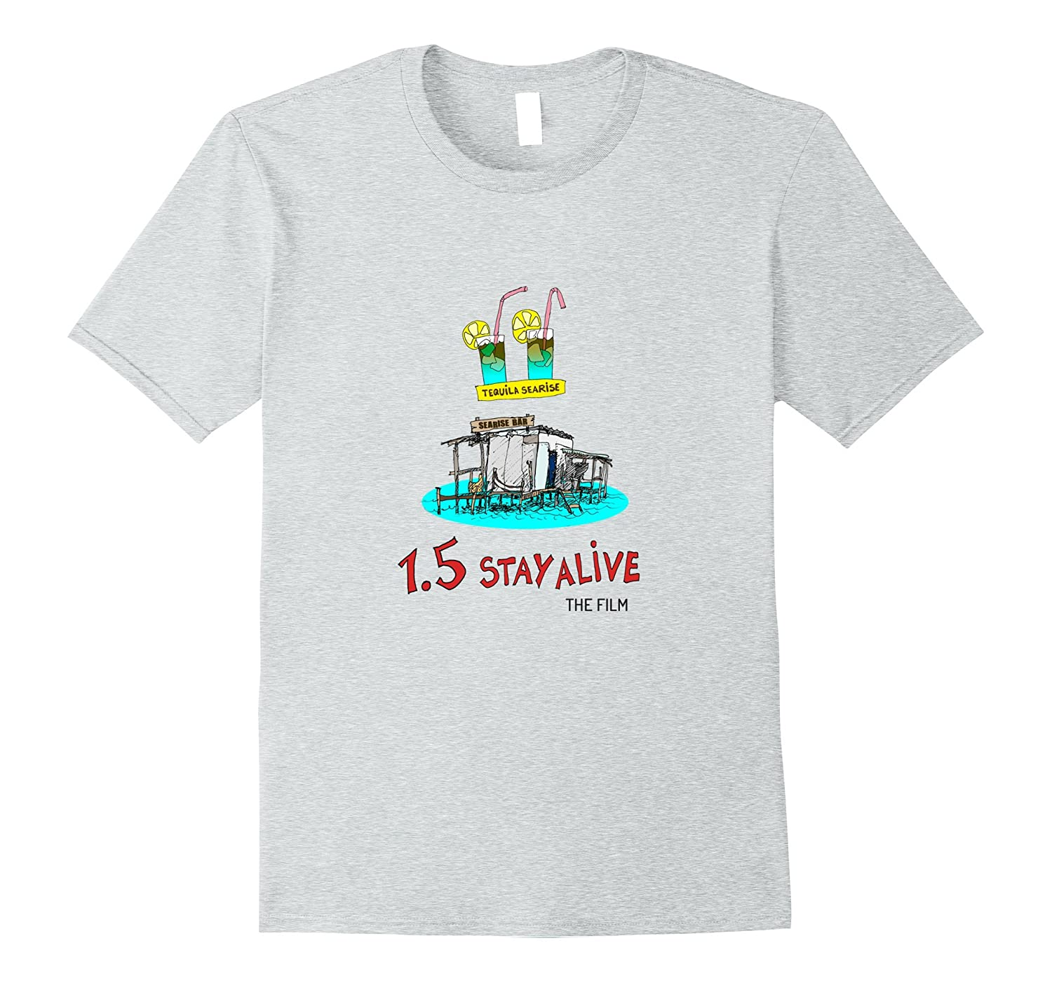 15 Stay Alive - Sea Level Rise in the Caribbean Tshirt-TJ