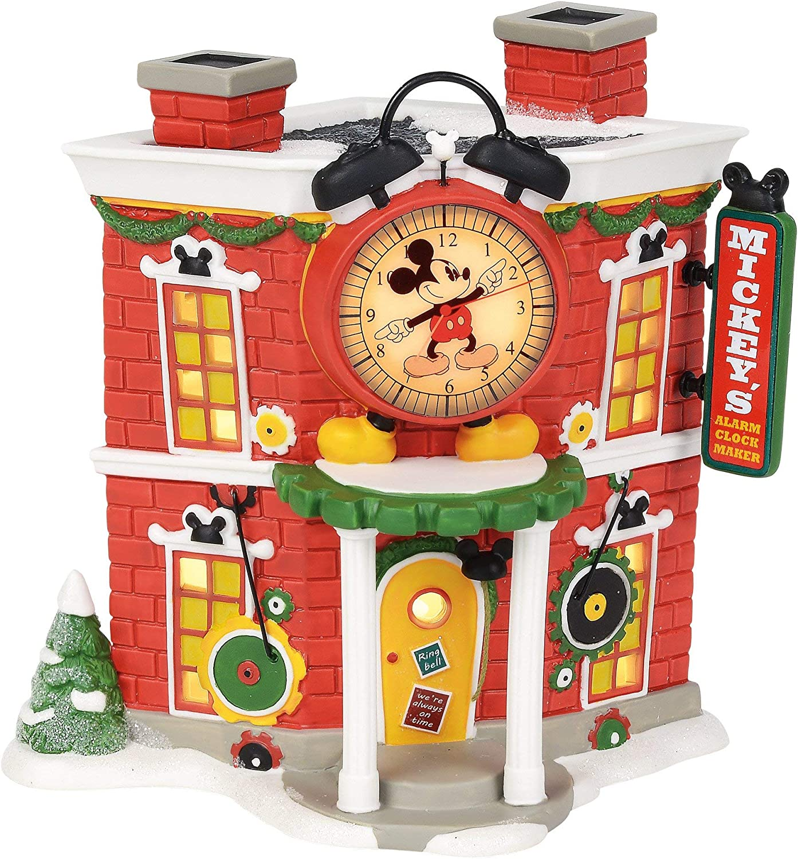 Collectible Buildings Department 56 Disney Mickeys Alarm Clock ...