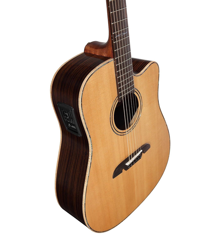ALVAREZ 311.068 MDA 70 CE Dreadnought de la guitarra eléctrica ...