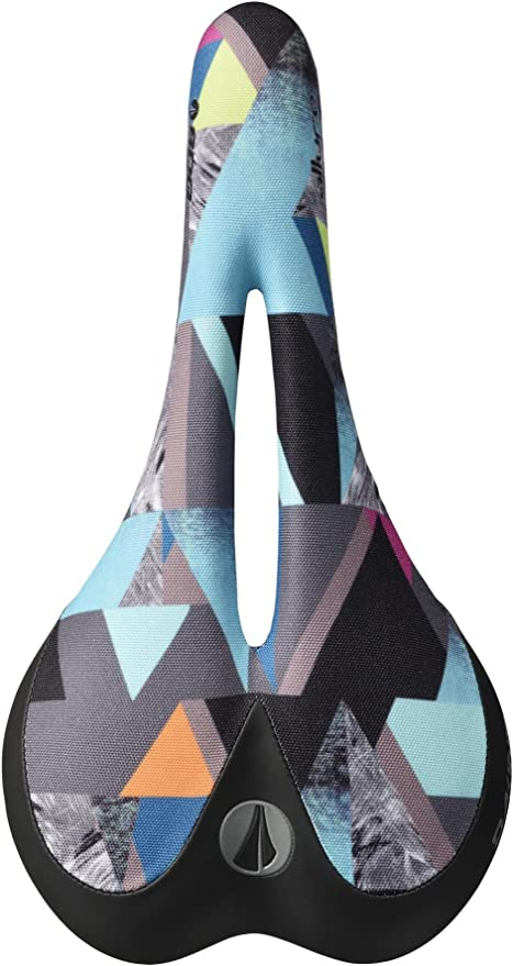 Ti-Alloy Sublimated Geo Print Graphics SDG Allure Dakine Women/'s Saddle