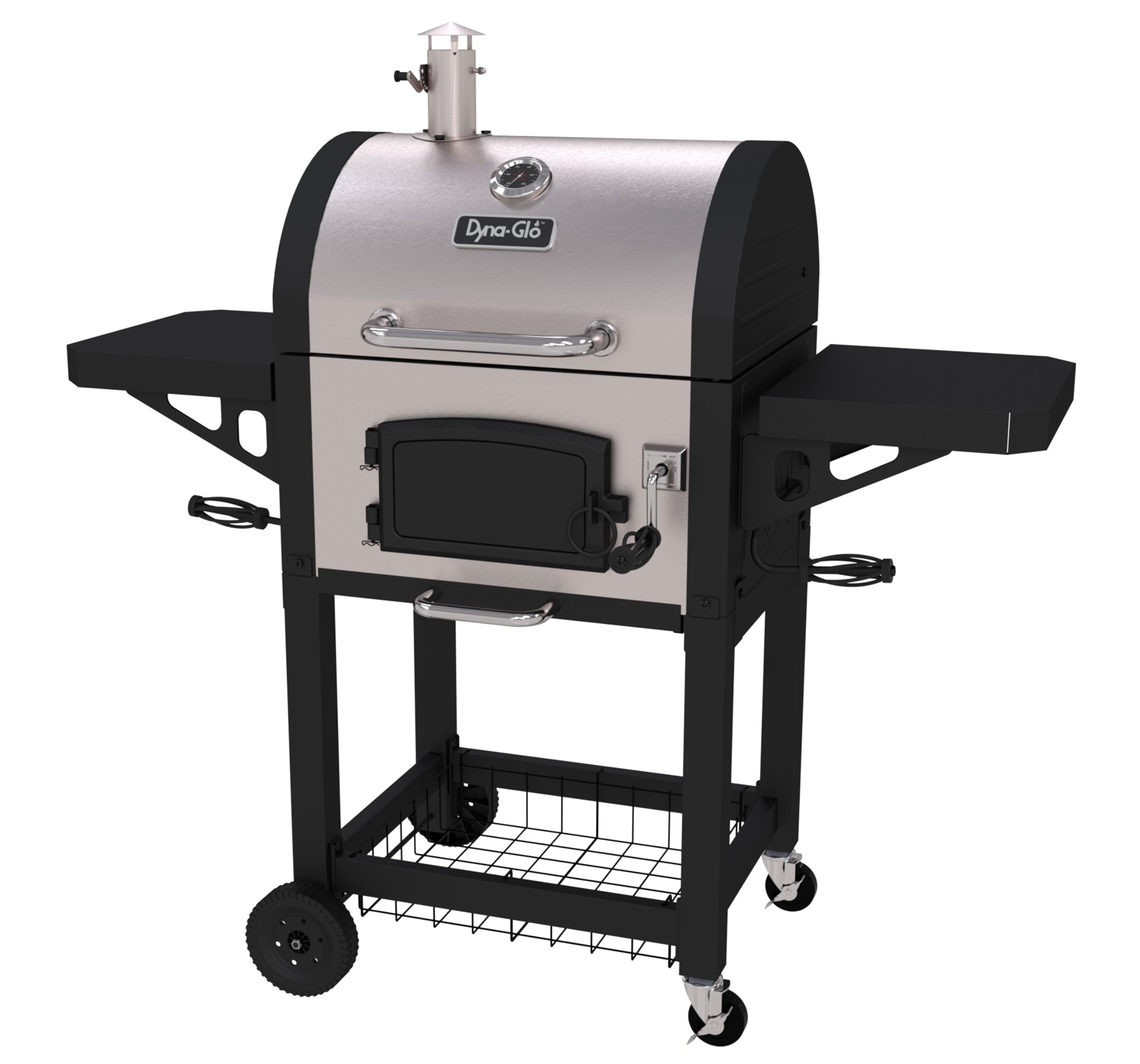 Dyna-Glo DGN405SNC-D Heavy Duty Stainless Charcoal charcaol Grill, Standard,