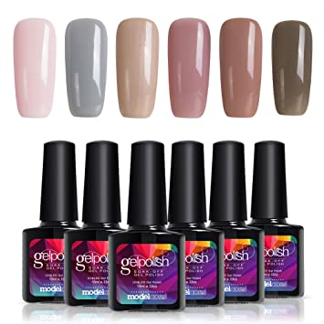 Amazon.com: Soak Off UV LED Gel Nail Polish Set, Great Choice for ...
