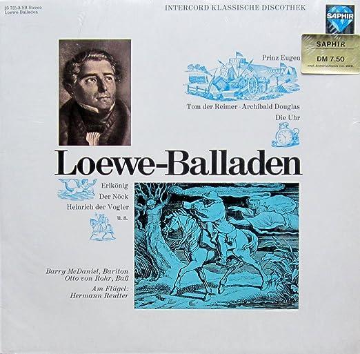 Loewe-Balladen [Vinyl LP] [Schallplatte]