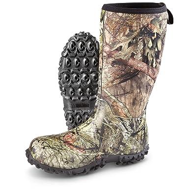 Men's Bayou Rubber Boots Waterproof Mossy Oak Break-Up Country