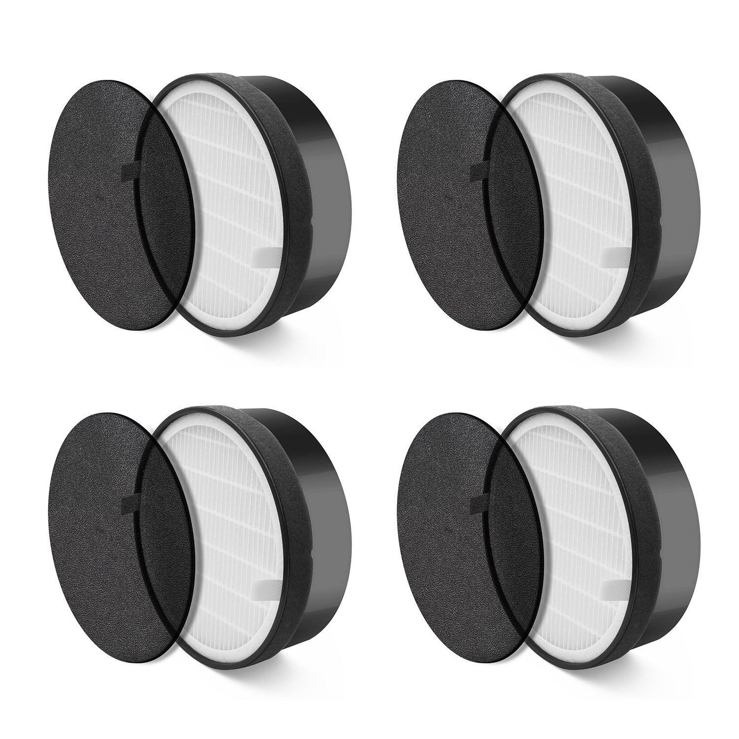 LEVOIT Air Purifier LV-H132 Replacement Filter (4 Pack)
