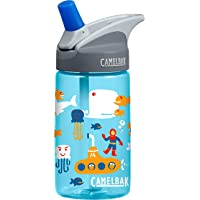 CamelBak Eddy Water Bottle, Kids, Sea, 400 ml Capacity