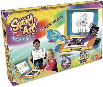 Goliath 35214 kit de manualidades para niños - Kits de manualidades para niños (Kids drawing stencil set, Rotulador, Niño/niña, 5 año(s), Niño, Caja): Amazon.es: Juguetes y juegos