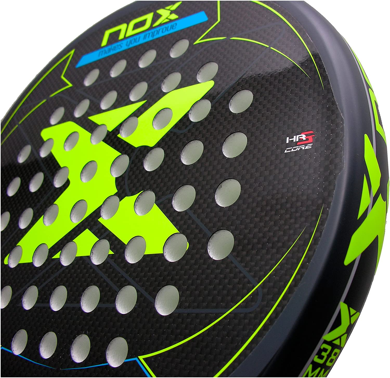 NOX Pala p/ádel Ultimate Carbon Pro 2 Yellow