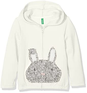 United Colors of Benetton Jacket W/Hood Longsleeve Cotton Blend, Chaqueta para Niñas: Amazon.es: Ropa y accesorios