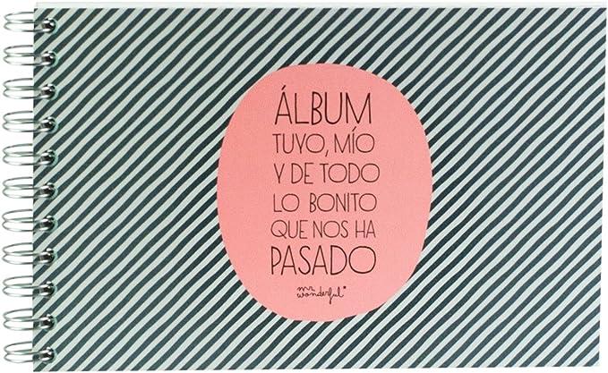 Mr. Wonderful Álbum con mensaje