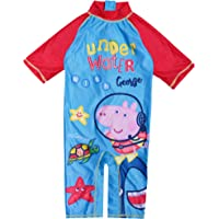 Peppa Pig Under Water with George Boys Sunsafe Swimsuit