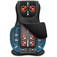 Snailax Full Body Massage Chair Pad -Shiatsu Neck Back Massager with Heat & Air Compress, Kneading Full Back Massage…