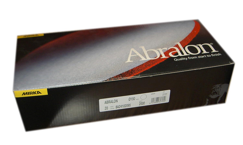 Mirka Abralon Discs - 150mm - P4000 (20)