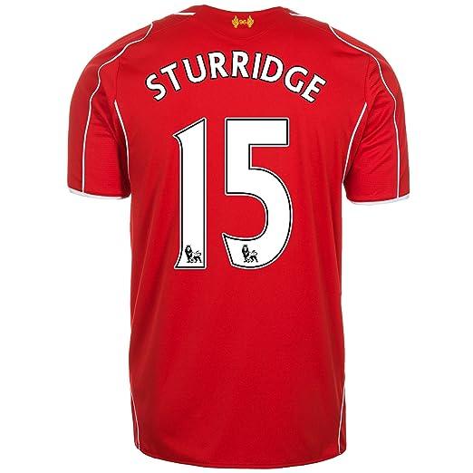 timeless design a7c6e e747c Amazon.com: Warrior STURRIDGE #15 Liverpool Home Jersey 2014 ...