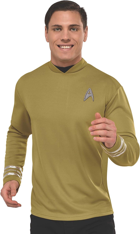 Rubie's Men's Star Trek: Beyond Captain Kirk Deluxe Costume Shirt