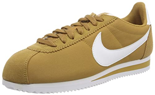 cheap for discount 6f381 58c74 Nike Men s Classic Cortez Nylon Low-Top Sneakers, Brown (Muted Bronze White