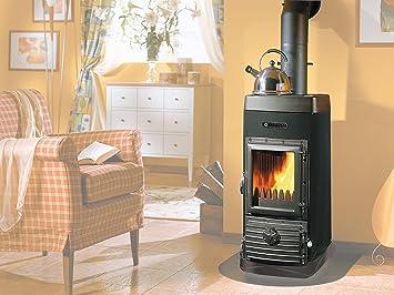 Estufa de Fuego CONTINUO JUNIOR Panorámica Con Caja de 1PZ: Amazon.es: Oficina y papelería