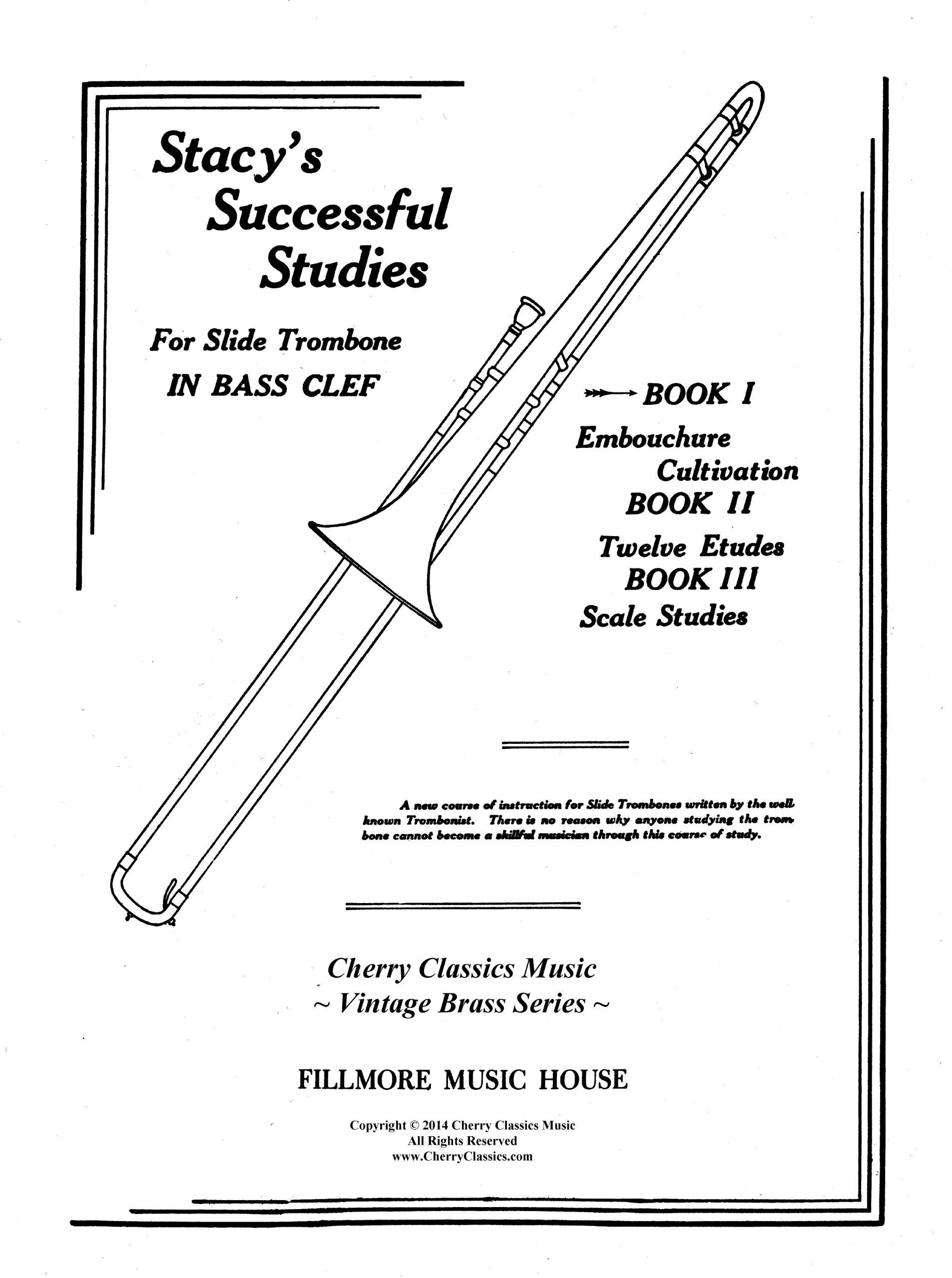 811ZtY8kLdL amazon com stacy's successful studies for trombone (9790530055076