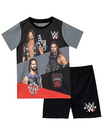 08eef866e70a3 WWE Boys World Wrestling Entertainment Pyjamas: Amazon.co.uk: Clothing