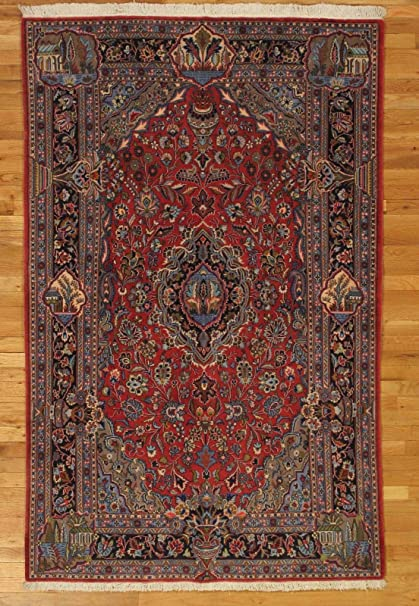 Amazon Com Kashan Admirable Rugs 4 X 7 Very Fine Persian Art Work