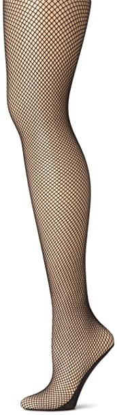 1920s Stockings, Tights, Nylons History Capezio Fishnet Seamless Tight $15.95 AT vintagedancer.com